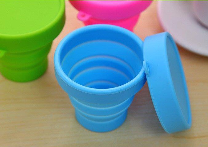 最新款 矽膠折疊杯 伸縮杯 摺疊杯~神來也