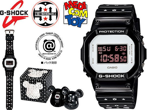 【美國鞋校】現貨 CASIO G-SHOCK 30週年 庫柏力克熊 DW-5600MT-1 MEDICOM TOY