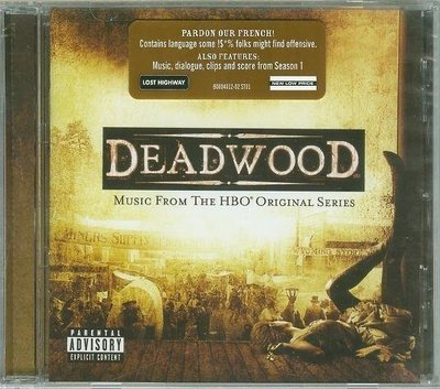 "[原聲帶-D]-""枯木城(Deadwood)""- Various.美版全新(08)"