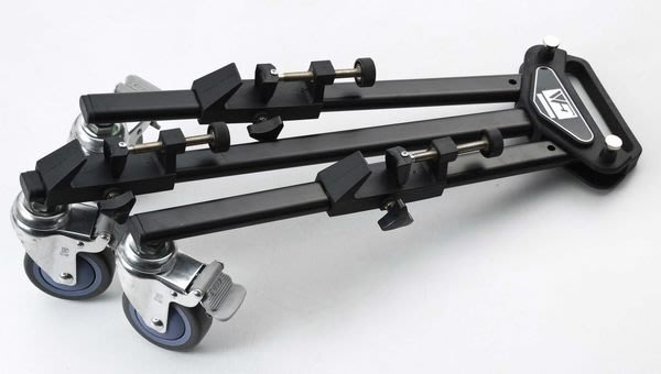 呈現攝影-FANCIER 專業腳架滑輪 三腳架滑輪底座 攝影棚 錄影 攝影抬 Pulley 附收納袋 工作室
