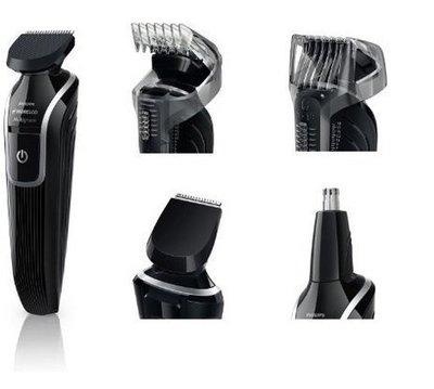 CP值第一!!Philips 飛利浦 5合1  多功能毛髮修剪器,剃頭刀 理髮器 鼻毛刀 成人兒童