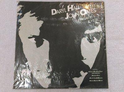 麗鳴黑膠唱片~DARYL HALL & JOHN OATES~PRIVATE EYES.HEAD ABOVE WATER