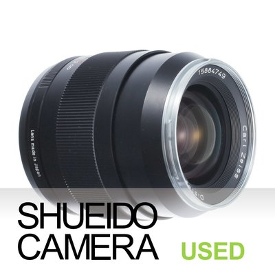 集英堂写真機【3個月保固】良品 ZEISS DISTAGON T* 35mm F2 ZE 鏡頭 CANON用 14819