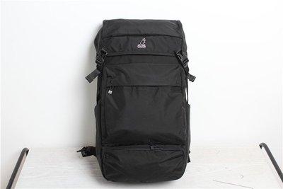 日版 KANGOL 黑色牛津布 多間格 超大容量 行山背囊 ($500 包順豐)