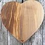 橄欖木砧板 心型 L20*W20*H1.5