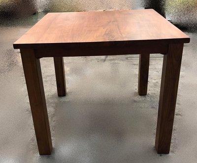 台中二手家具賣場 推薦 大里宏品全新中古傢俱家電 DA71525*全新柚木餐桌 實木桌椅*戶外休閒桌椅 泡茶桌椅 會議桌