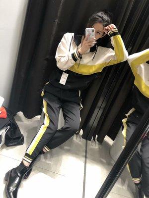【Strawberry】19春新款側邊帶飾松緊腰休閑慢跑褲運動褲女5039/022