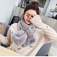 日系 可愛 保暖 毛毛 頸巾 圍巾 生日禮物 $28包郵 粉色 白色 黑色 杏色 灰色
