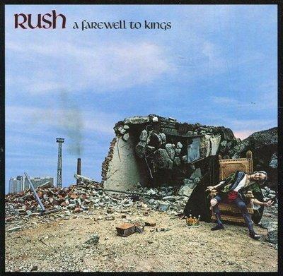 《絕版專賣》RUSH 匆促合唱團 / A Farewell To Kings 告別權力 (德版.半銀圈)