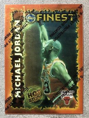 1995-96 Topps Finest Michael Jordan Hot Stuff 籃球卡 球卡 喬丹 MJ