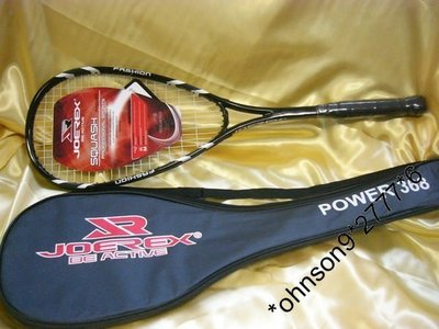 全新 Joerex Power 368 壁球拍 SquashRacket 連拍套 = 128.00