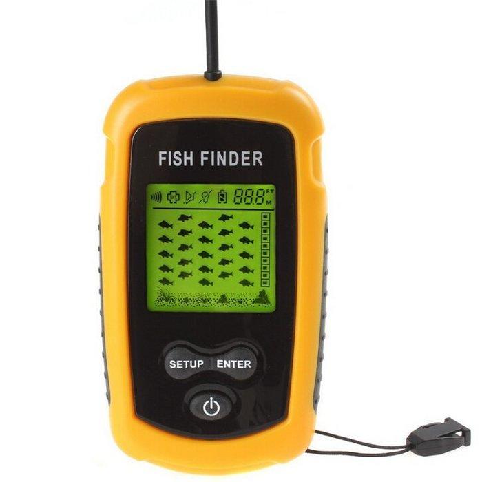 探魚器TL88魚群探測器超聲波聲納有線無線可擕式探魚器fishfinder