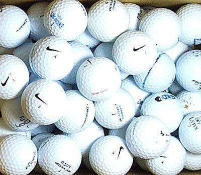 新威全高爾夫*~特選6~8成新(NIKE,DDH,LYNX,SRIXON,DUNLOP..)知名品牌綜合球(100顆)