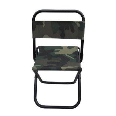 彩色帆布折疊椅 迷彩椅背折疊椅 迷彩靠背折合椅 大號 中號 小號 靠背折疊凳子 【CF-05A-31641】