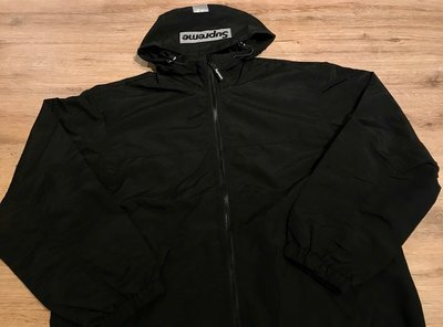 【MASS】SUPREME 2-TONE ZIP UP JACKET 隱藏目錄款外套 風衣 黑S M L