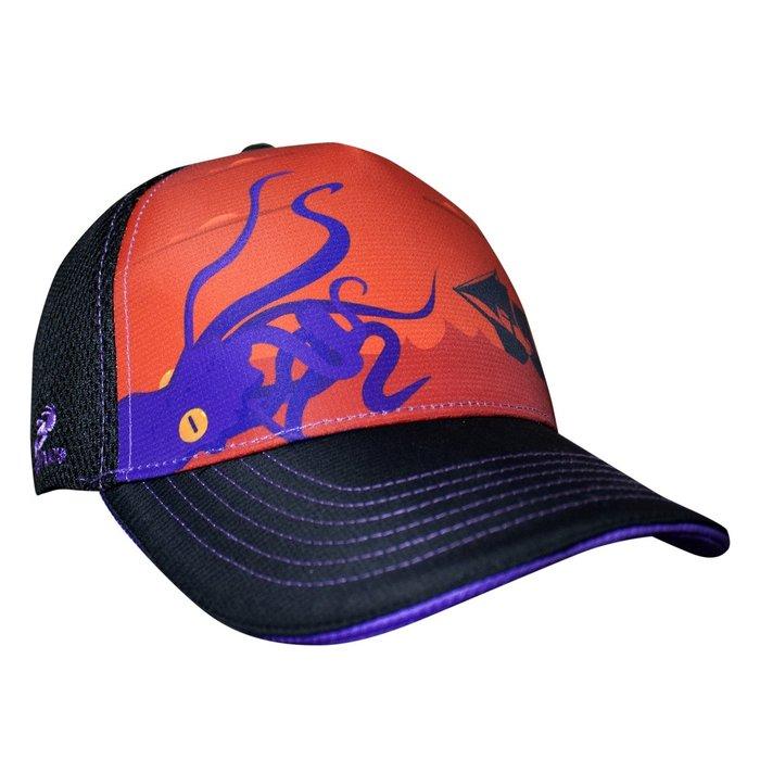 汗淂運動帽 HEADSWEATS - 全球領導品牌 挪威海怪章魚 Kraken (內襯紫色)