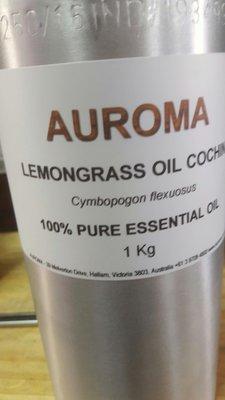 原裝100%AUROMA檸檬香茅精油