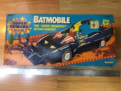 1盒 Kenner Superpower BATMAN Batmobile 蝙蝠俠 The Dark Knight 蝙蝠車