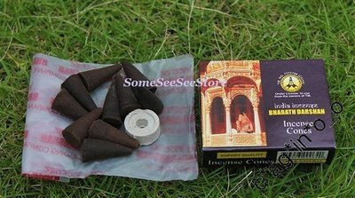 DARSHAN印度經典-老塔香/微笑Smile/Patchouli Incense Cones廣藿香錐形香#現凡買5盒送1盒#可配搭不同香味