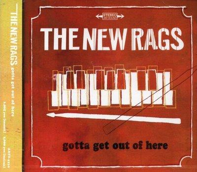 K - The New Rags Gotta Get Out Of Here - 日版 CD+6BONUS NEW