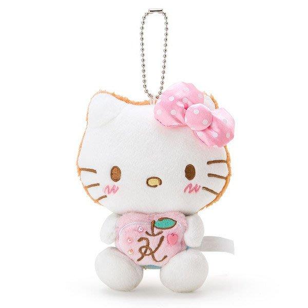 日本三麗鷗 白色情人節 KITTY/布丁狗 布偶吊飾