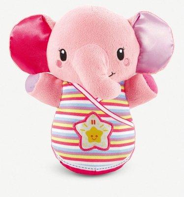 英國VTECH Snooze & Soothe elephant toy(粉色)(預購)