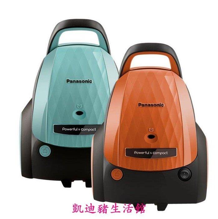 【凱迪豬生活館】Panasonic/松下吸塵器家用 臥式小型吸塵器MC-WGE61 塵滿指示大容量塵袋有效過濾網KTZ-200924