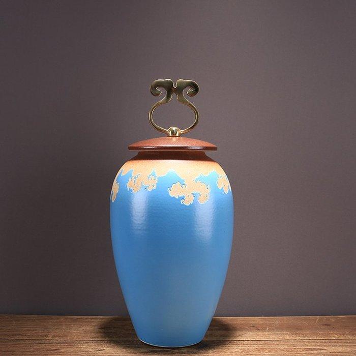 〖洋碼頭〗簡約現代美式鄉村陶瓷客廳擺件 家居飾品花瓶儲物罐結婚禮物擺件 ysh248