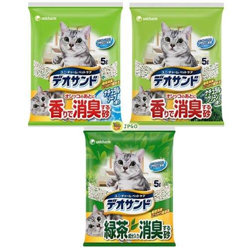 【JPGO】預購-超取最多一包~日本製 嬌聯 消臭大師 消臭.抗菌 芳香礦砂 5L~綠茶773 皂香681 森林599