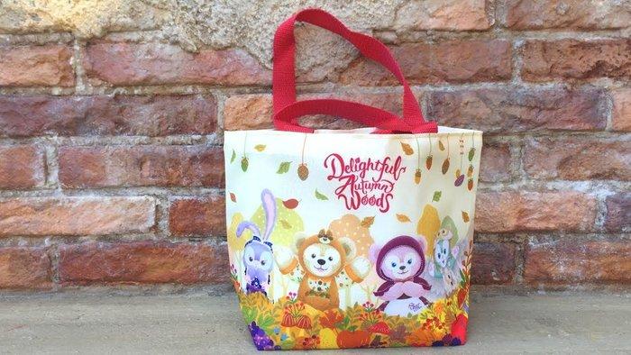 ☆Juicy☆日本 迪士尼 DISNEY Duffy 達菲熊 2019 秋季 雪莉玫 史黛拉兔 畫家貓 便當袋 托特包