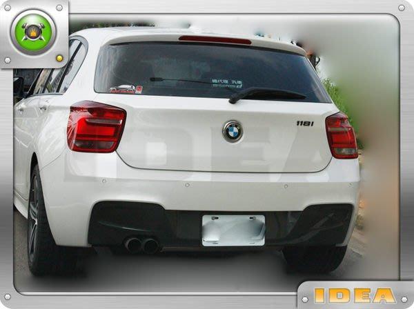 泰山美研社4707 BMW F30 1系列 M-SPORT M-TECH  後保桿
