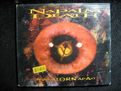 NAPALM DEATH - INSIDE THE TORN APART -1997年美國盤 - 251元起標 R424