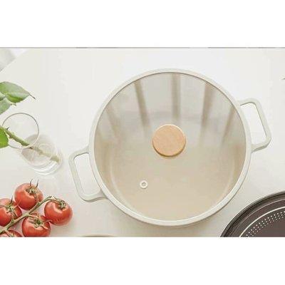 [現貨] 韓國直進 大廠 Neoflam Fika 牛奶鍋系列  22cm 雙耳湯鍋(附蓋)   IH 瓦斯爐可使用