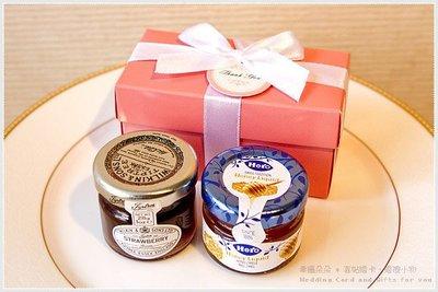 Double Love Pink盒「果醬+蜂蜜」二入禮盒.甜蜜佈置.結婚婚禮小物.工商.禮品.贈品.來店禮.送客戶