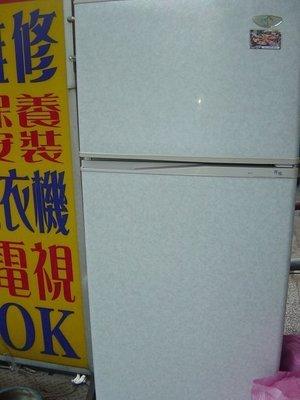 東元雙門冰箱上冷凍下冷藏七成新4000含運 保固 大清倉 破盤價