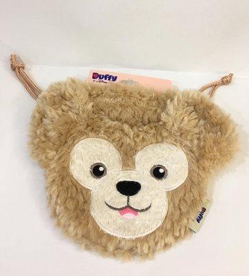 ^燕子部屋 ^ 香港迪士尼 達菲熊大頭 縮口袋 化妝袋