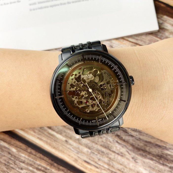 FOSSIL美國品牌Chase系列鏤空機械紳士腕錶ME3163原廠公司貨