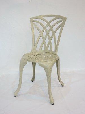 【南洋風休閒傢俱】戶外休閒桌椅系列-#126C  三角形椅  戶外鋁合金餐椅    #126C