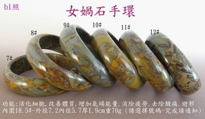 金牛礦晶vqq-7.vqq-10『補天-五行能量女媧石-(寬型手環』意者請通知指定何號手環?/1個
