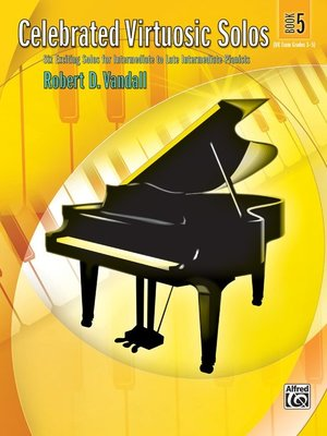 【599免運費】Celebrated Virtuosic Solos, Book 5 Alfred 00-27814