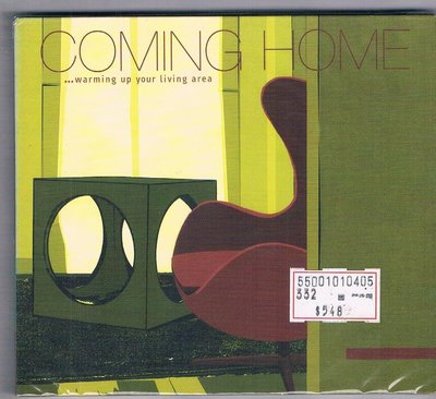 [鑫隆音樂]西洋CD-Coming Home ...Warming Up Your Living Area/全新/免競標