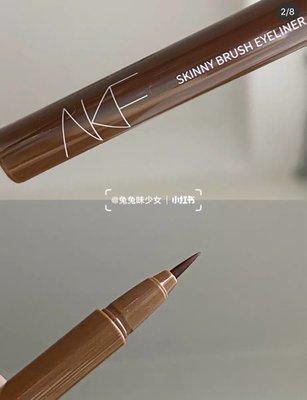 平價彩妝全球AKF眼線液筆眼線筆不暈染防水持久李佳琦新手 初學者超好用的極細