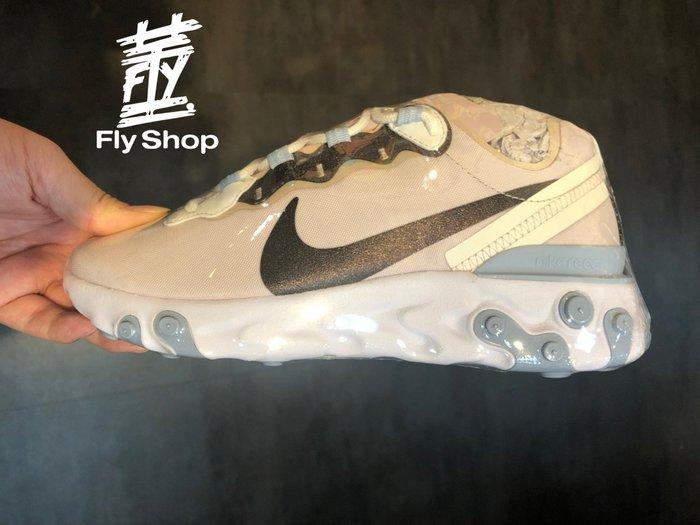 [飛董] NIKE REACT ELEMENT 55 SE 慢跑鞋 休閒鞋 女鞋 CN3591-600 淺粉