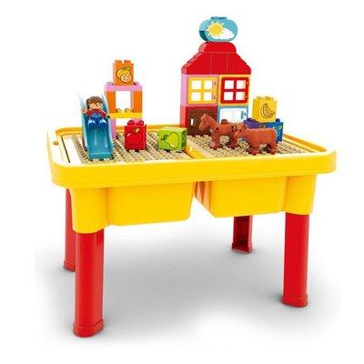 多功能 樂高遊戲 積木桌 學習桌 遊戲桌 收納桌 一桌三用 樂高積木 LEGO規格【G44003101】塔克玩具