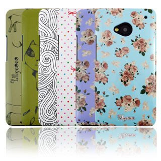 出清 Lilycoco HTC New One M7 設計家系列 保護殼 超薄 硬殼  六款現貨