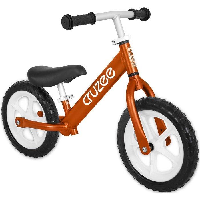 (CRUZEE) 超輕量鋁合金平衡滑步車 Push Bike 橘色 (共九色)