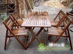 INPHIC-戶外桌椅套件 戶外椅套件 休閒椅 戶外桌椅 戶外家具 燒灼碳化