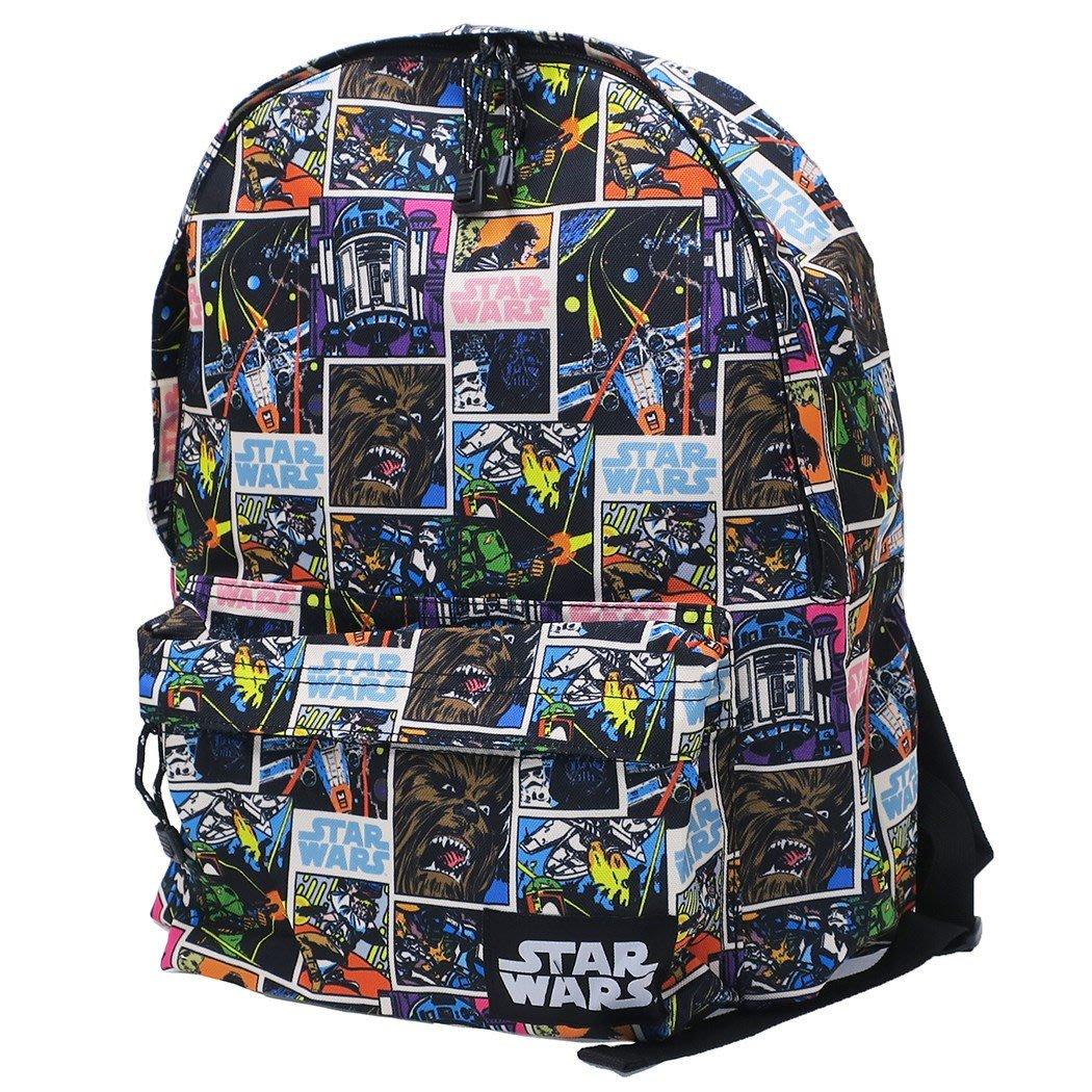☆Juicy☆日本 STAR WARS 星際大戰 經典傳奇 原力覺醒 肩背包 後背包 書包 補習袋 3542-A