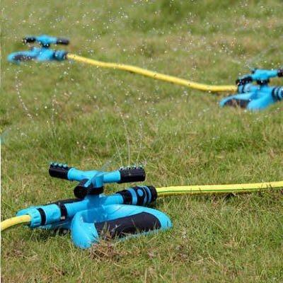 【單旋轉噴頭+串聯接頭套裝-KN247-1套/組】4分雙通多串聯園藝農用自動灑水器-5170855
