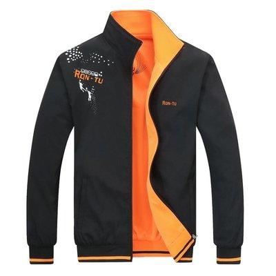 男士夾克春秋季韓版兩面穿雙面穿學生外套流帥氣男生薄褂子外衣潮